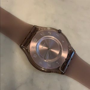 Swatch Silicone Band Watch